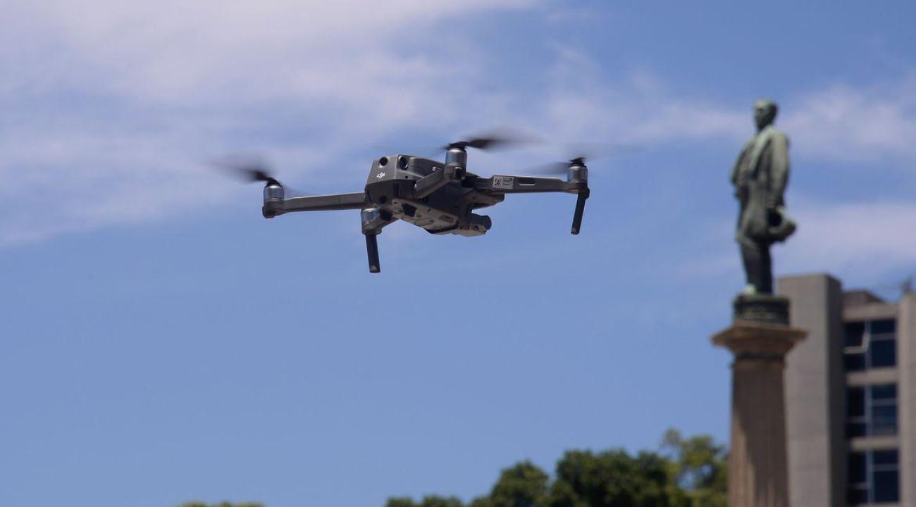 PM vai usar drones para reforçar patrulhamento nas eleições do Rio de Janeiro