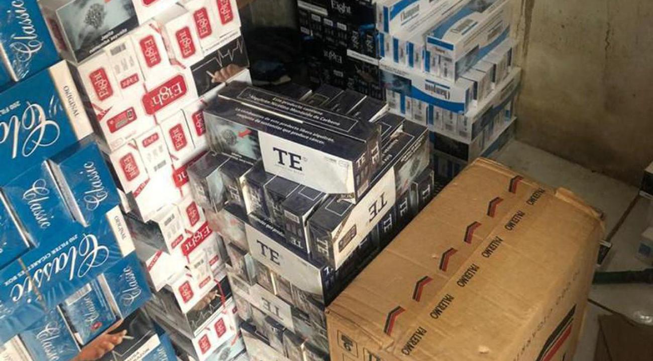 Polícia Federal apreende 1,8 mil pacotes de cigarros ilegais no Paraná